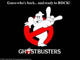 Ghostbusters Rock by ZanderYurami