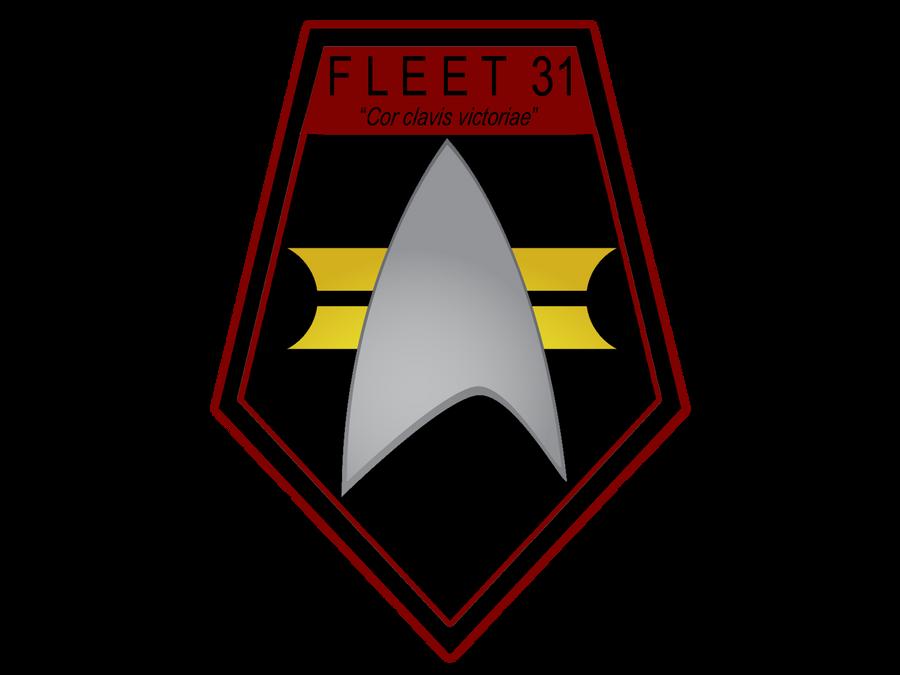 Fleet 31 shield with motto