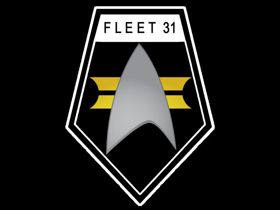 Fleet 31 Shield black design