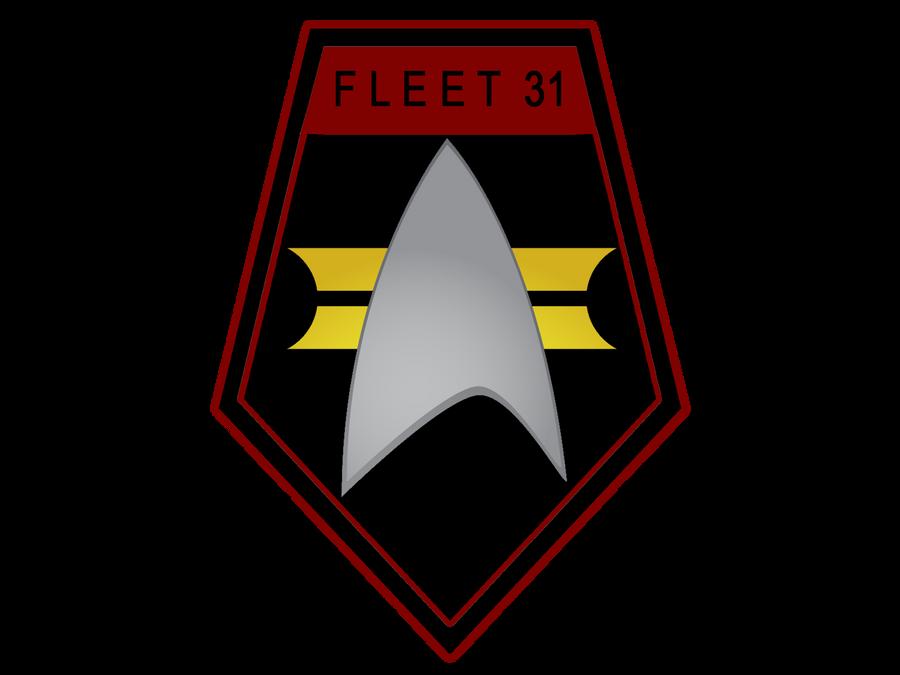 Fleet 31 Shield black and red design by ZanderYurami
