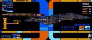 USS Transcendent Engineering LCARS