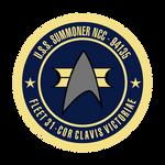 USS SUMMONER seal STYLIZED