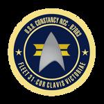 USS Constancy Seal