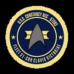 USS Constancy Seal STYLIZED