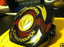 Black and Gold Legacy DRAGON BUCKLER by ZanderYurami