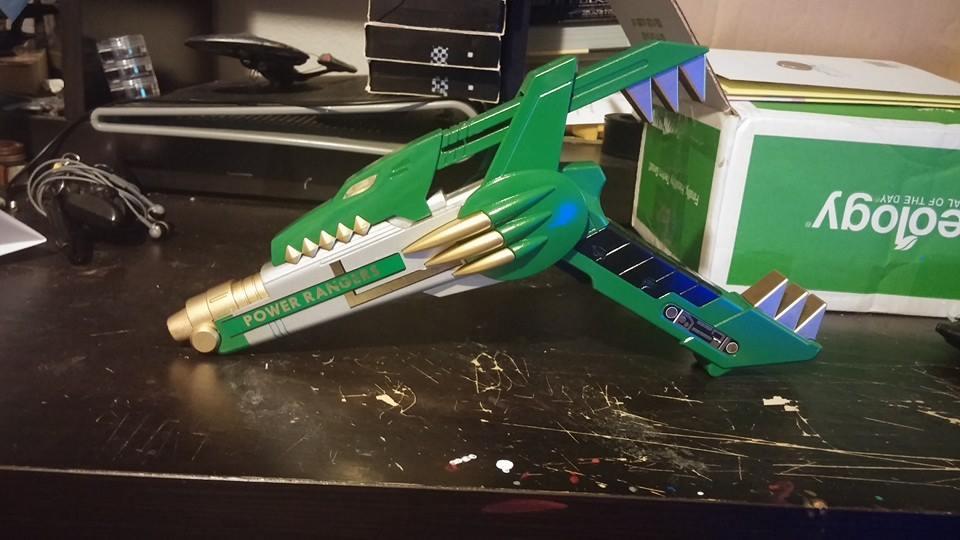 Green Ranger Blade Blaster by ZanderYurami