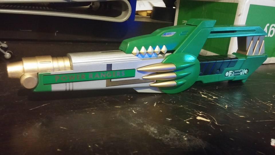 Green Ranger Blade Blaster 2 by ZanderYurami