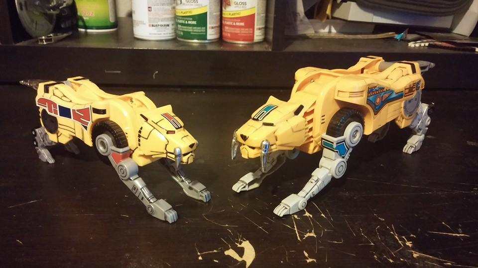 New VS Old Sabre Toothed Tiger by ZanderYurami