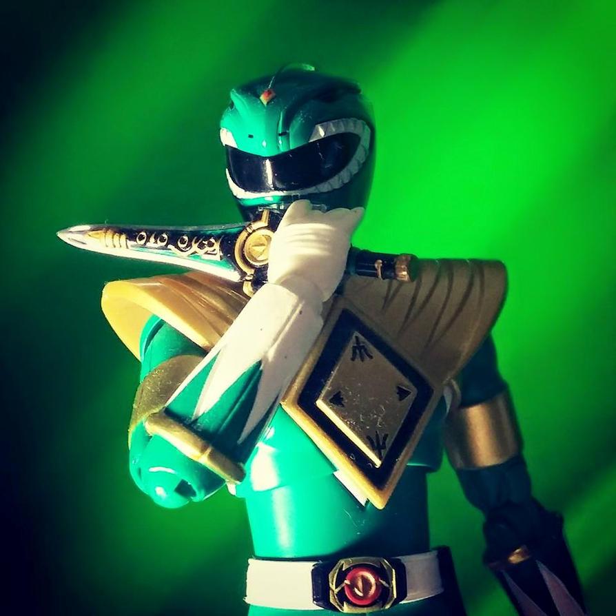 Green Zyuranger, Burai! by ZanderYurami