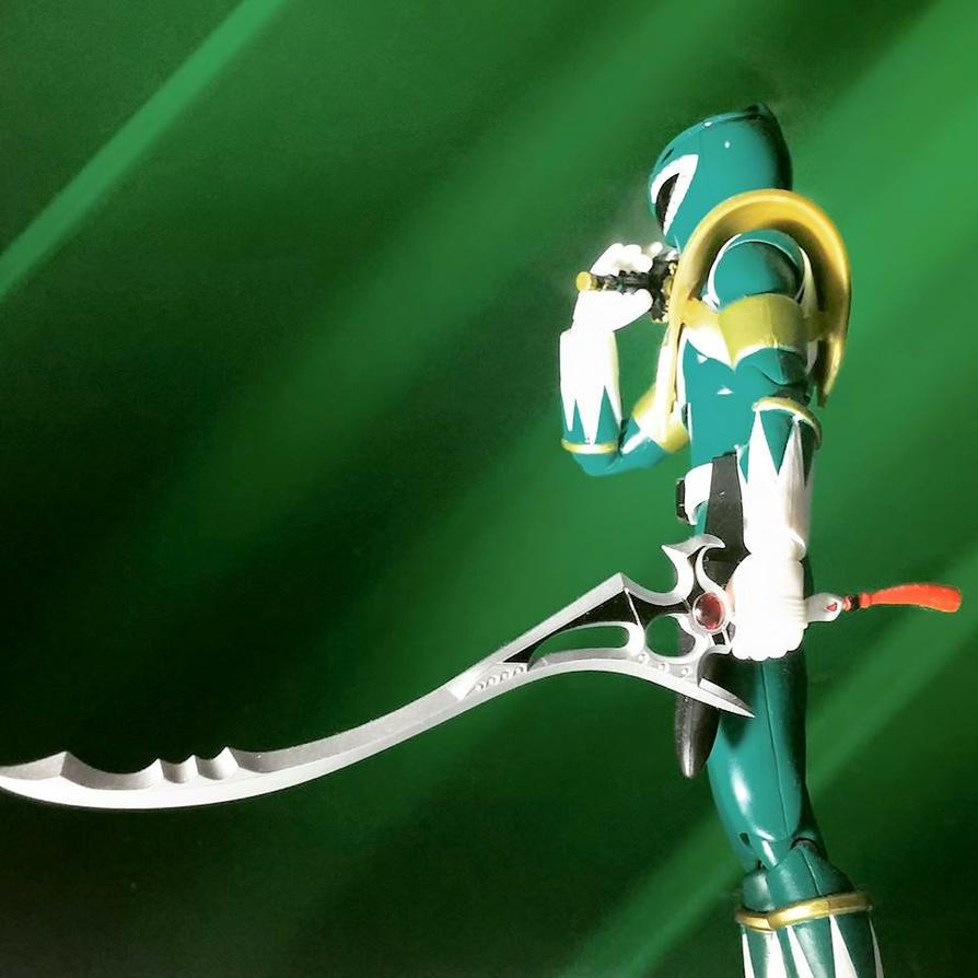 Evil DragonRanger, Burai! by ZanderYurami