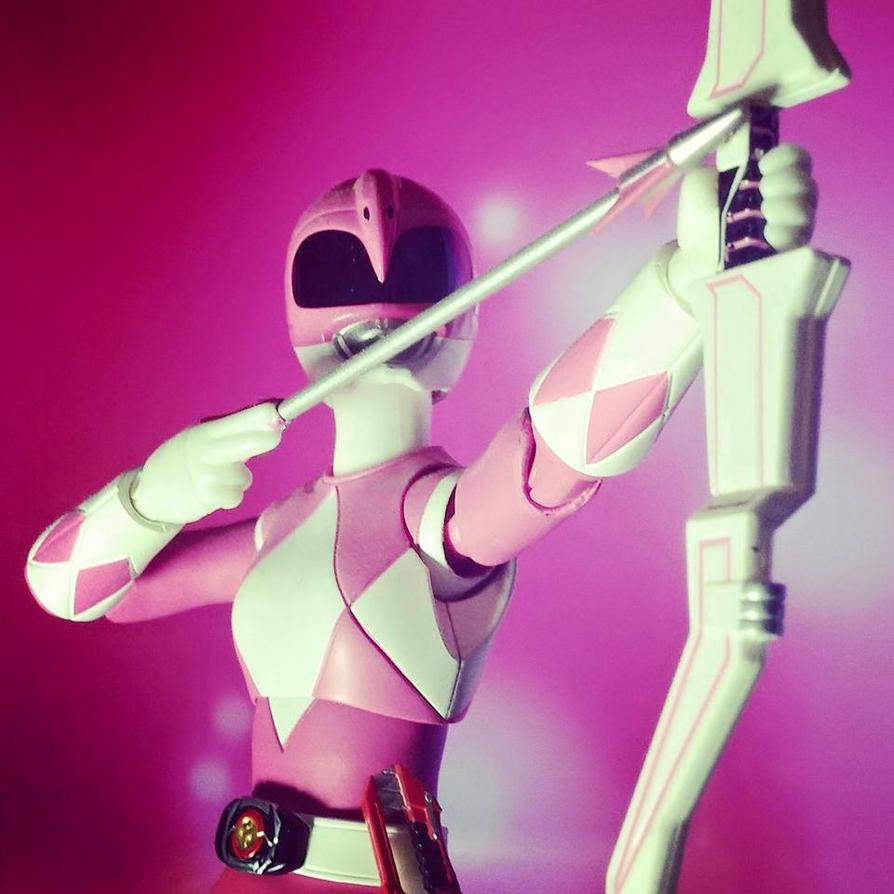 Pink Zyuranger, Mei! by ZanderYurami