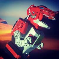 Guardian Beast Tyrannosaurus by ZanderYurami