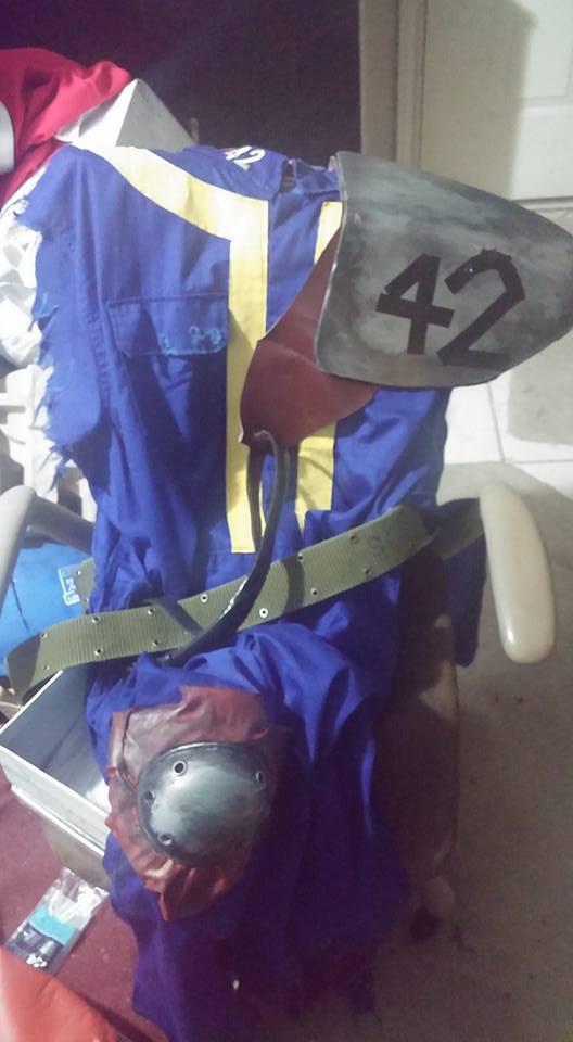 Vault 42 Armored Vault Suit WIP by ZanderYurami
