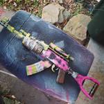 ''Rusty'' Pack Rifle by ZanderYurami