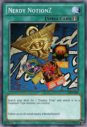 Yu-Gi-Oh! business cards