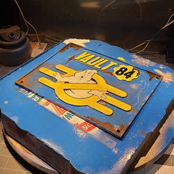 Vault 84 Ghostbusters sign