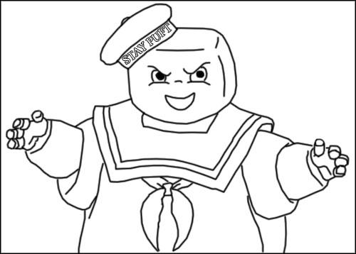 lego ghostbusters coloring pages - photo#24
