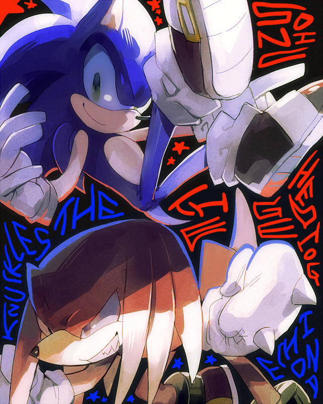 sonic and Knuckles by aoki6311