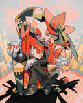 Knuckles and Rouge