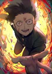 mobpsycho100 by aoki6311