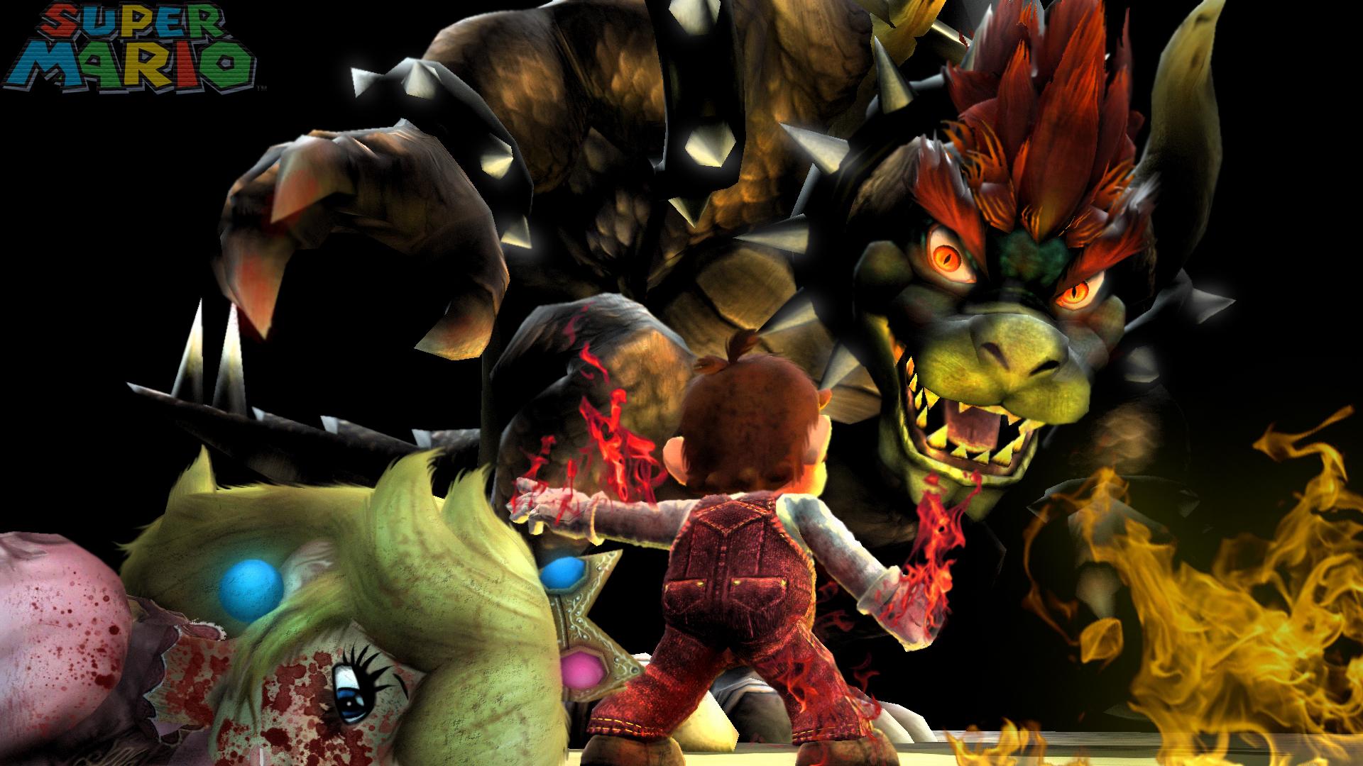 Mario VS Giga Bowser by LemurfotArt on DeviantArt