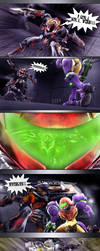 Metroid Fusion - Downfall of the SA-X - Page 22 by LemurfotArt