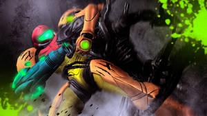 The Alien VS The Hunter