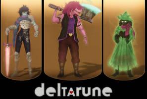Deltarune by LemurfotArt