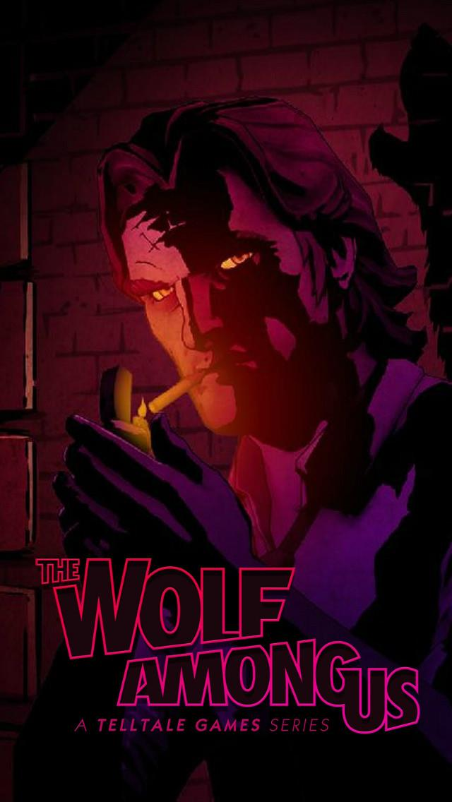 The Wolf Among Us Wallpaper For Phone By Limb0ist
