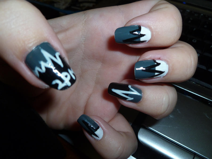 2PM Heartbeat Nail Art by kkmaree on DeviantArt