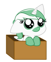 Filly Arctic in a box [Request] by Mythilas