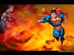 Superman under a Red Sun