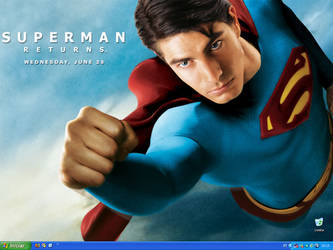 Superman Desktop by pauloskinner