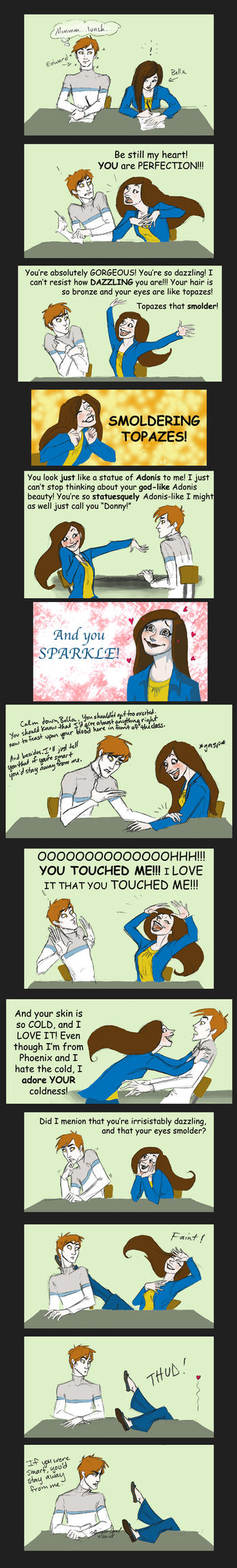 Methinks Bella likes Edward by GingerOpal