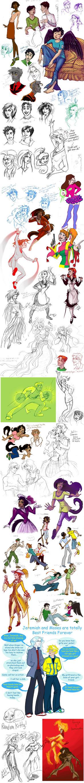 Supersized Superhero Superdump by GingerOpal