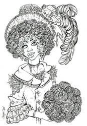 Dahlias by GingerOpal
