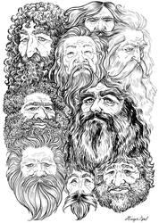 Beards Beards Beards by GingerOpal