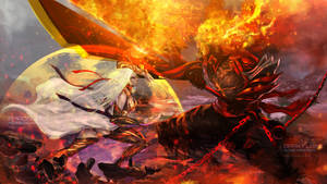 Dark Bankai VS Dark Flame