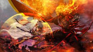 Dark Bankai VS Dark Flame