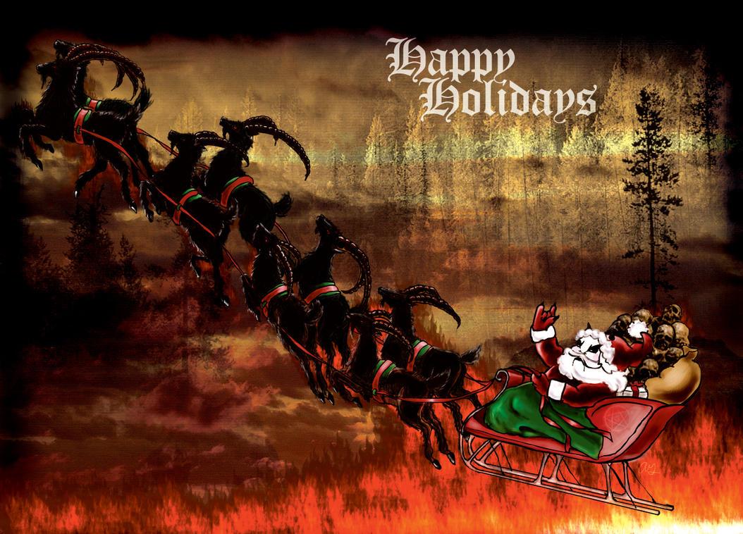 How Satan stole Christmas... by countessbathory on DeviantArt