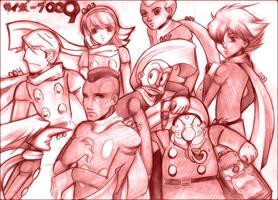 Cyborg 009-dase by karrey