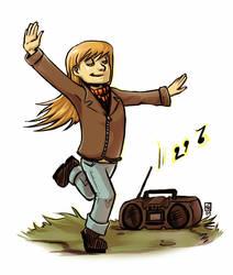 Tova and the Radio by karrey