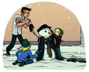 Snowman by karrey