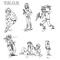 023-029 - Three Heroes by karrey