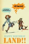 Happy Birthday Land