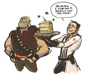 Zanvich Cake for Healz