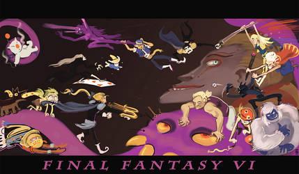 Final Fantasy VI on Crack by karrey