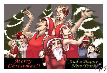 Happy Holidays by karrey
