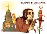 Happy Holidays Shoutmachine by karrey