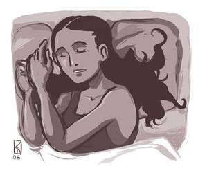 Asleep by karrey